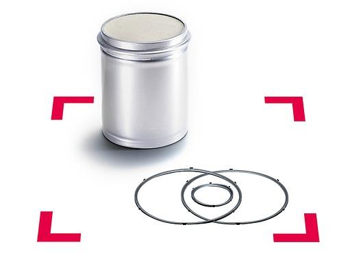 Оригинальный сажевый фильтр для дизельного двигателя MAN исоответствующие уплотнения